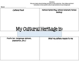 Cultural Heritage Graphic Organizer
