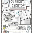 Current Events 15 different Lessons!