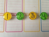 Custom Round Magnets {set of 25}