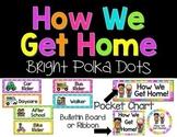 Customizable PM Transportation {Bright Polka Dots and Stripes}