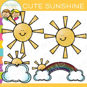 Cute Sunshine Clip Art