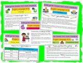 Cute Teacher Friendly Kindergarten ELA Common Core Standards