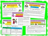 Cute Teacher Friendly Kindergarten ELA Common Core Standards