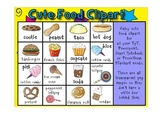 Cute food clipart graphics images