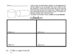Cylinders Worksheet