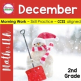MORNING WORK {Daily Common Core & More} - DECEMBER ~ 2nd Grade