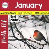DAILY COMMON CORE & MORE - January {2nd Grade}