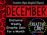 DECEMBER 2015 Graphics Club {Creative Clips Digital Clipart}