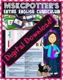 DIGITAL DOWNLOAD: Entire English Curriculum Common Core (M