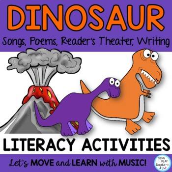 DINOSAUR SONGS POEMS *READERS THEATER *SOUND ACTION STORY