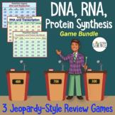 DNA (Deoxyribonucleic Acid), RNA, Translation Jeopardy Gam