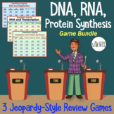 DNA (Deoxyribonucleic Acid), RNA, Translation Jeopardy Gam