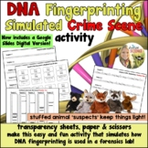 DNA Fingerprinting Simulated Crime Scene Activity