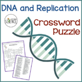 DNA and Replication Crossword Puzzle