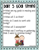 Daily 5 Student Goal Setting Poster {FREE}
