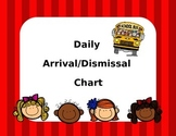 Daily Arrival/Dismissal Chart