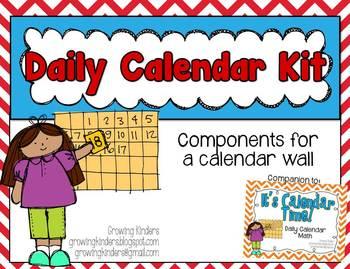 Daily Calendar Kit
