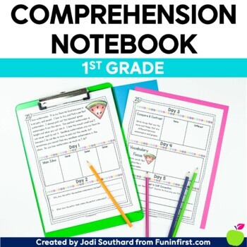 Comprehension Notebook {1st Grade Edition}