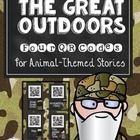 Daily Five QR Codes: 4 Animal Stories for Your Listen to R