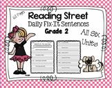 Daily Fix-It Sentences - Reading Street Scott Foresman