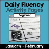 """Daily Fluency"" Activity Pack (January - February)"
