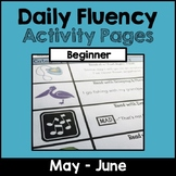 """""""Daily Fluency"""" Activity Pack (May - June)"""