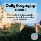 Daily Geography Month 1