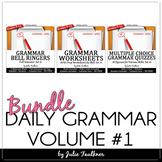 Daily Grammar Program, Full Semester, Bell Ringers, Worksh