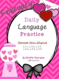 Daily Language Practice: February
