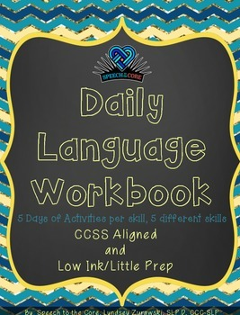 Daily Language Workbook