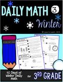 Daily Math 3 (Winter) Third Grade