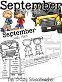 Daily Math Booklet {September}