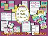 Daily Math Notebook