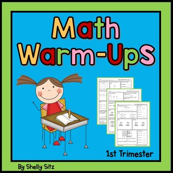 Daily Math Warm Ups For Second Grade--First Trimester