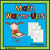 Math For Second Grade--First Trimester