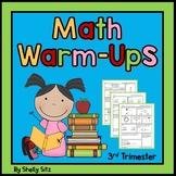 Daily Math Warm Ups for Second Grade-Third Trimester