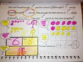 Daily Math Word Problem Solving Journal K-2