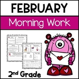 Common Core Math and Language Arts Daily Practice for Seco