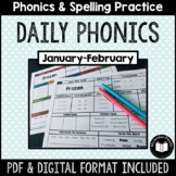 """Daily Phonics"" Word Work (January - February)"