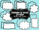 Dash N' Dots Doodles {Borders & Frames}