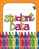 Data Binder Graphs - Second Grade (Language Arts only)
