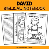 David and Goliath Bible Unit (text, memory verse & activities)
