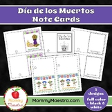 Day of the Dead - Día de los Muertos - Note Cards