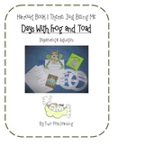 Days with Frog and Toad Activities and Printables for Harcourt