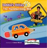 Debbie's Ditties 6: The Handwriting Mix (CD:12 Songs to Su