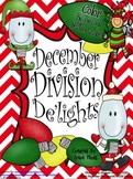 Christmas Math Activities ~ December Division De'lights' ~