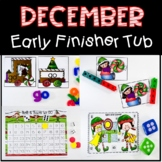December Early Finisher Tub