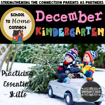 December Homework Packet - Kindergarten (Christmas Time)