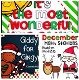 December Kindergarten Bundle