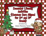 December Literacy Centers {Common Core Aligned for 2nd and